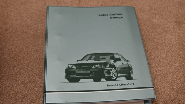 1991 Lotus Carlton For Sale (picture 108 of 113)