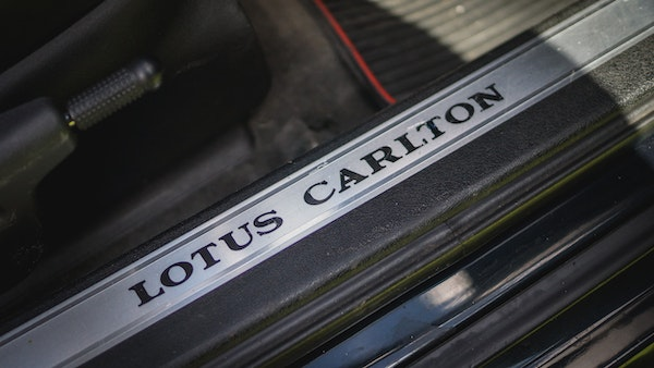 1993 Vauxhall Lotus Carlton For Sale (picture 52 of 179)