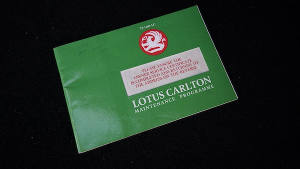 1993 Vauxhall Lotus Carlton For Sale (picture 145 of 179)