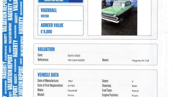 1961 Vauxhall Victor FA S2 For Sale (picture 145 of 148)