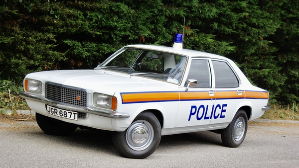1978 Vauxhall VX2300 Police Car For Sale (picture 4 of 87)