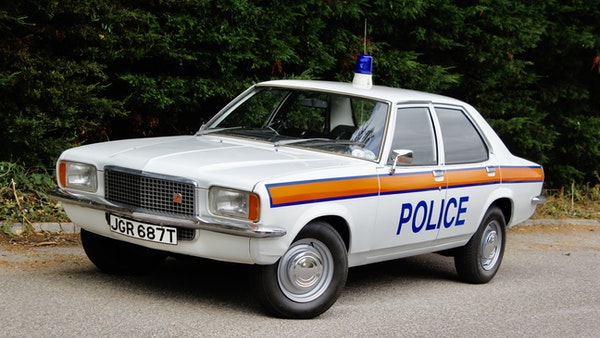 1978 Vauxhall VX2300 Police Car For Sale (picture 20 of 87)