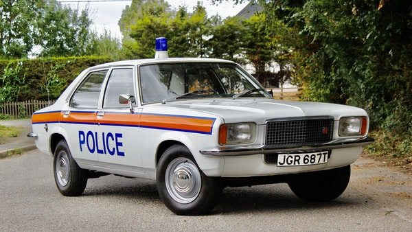 1978 Vauxhall VX2300 Police Car For Sale (picture 23 of 87)
