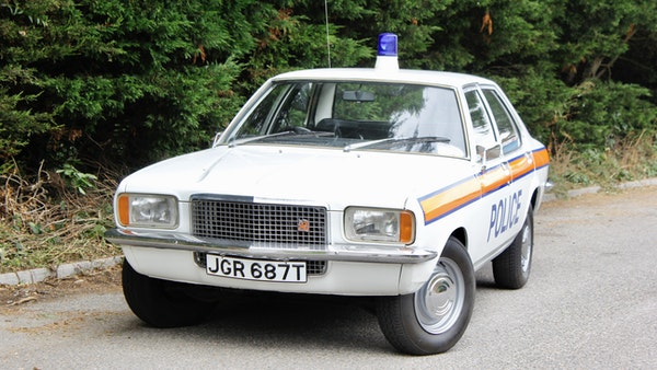 1978 Vauxhall VX2300 Police Car For Sale (picture 7 of 87)