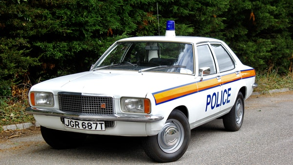 1978 Vauxhall VX2300 Police Car For Sale (picture 3 of 87)