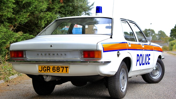 1978 Vauxhall VX2300 Police Car For Sale (picture 31 of 87)