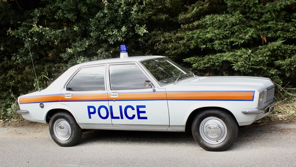 1978 Vauxhall VX2300 Police Car For Sale (picture 27 of 87)