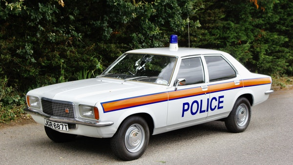 1978 Vauxhall VX2300 Police Car For Sale (picture 24 of 87)
