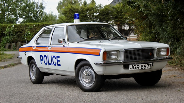 1978 Vauxhall VX2300 Police Car For Sale (picture 10 of 87)
