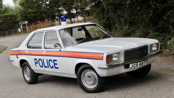 1978 Vauxhall VX2300 Police Car For Sale (picture 5 of 87)