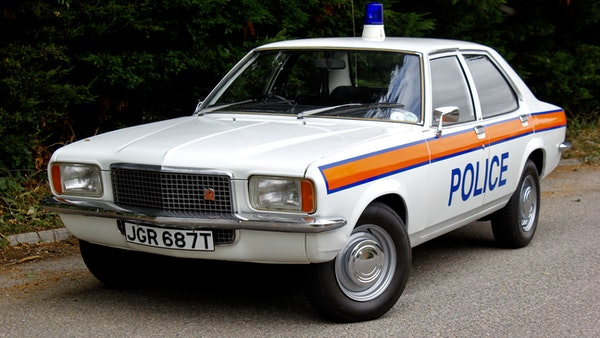 1978 Vauxhall VX2300 Police Car For Sale (picture 21 of 87)