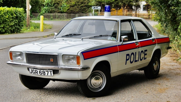1978 Vauxhall VX2300 Police Car For Sale (picture 1 of 87)