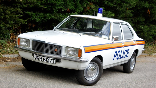 1978 Vauxhall VX2300 Police Car For Sale (picture 9 of 87)