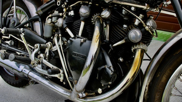 1950 Vincent Black Shadow For Sale (picture 32 of 49)