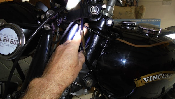 1950 Vincent Black Shadow For Sale (picture 41 of 49)