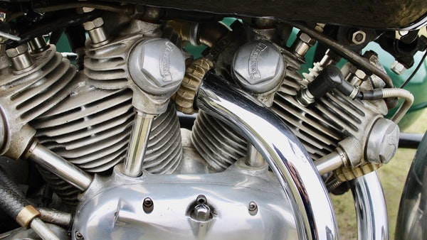 1949 Vincent White Shadow & Swallow Jet Sidecar For Sale (picture 54 of 60)