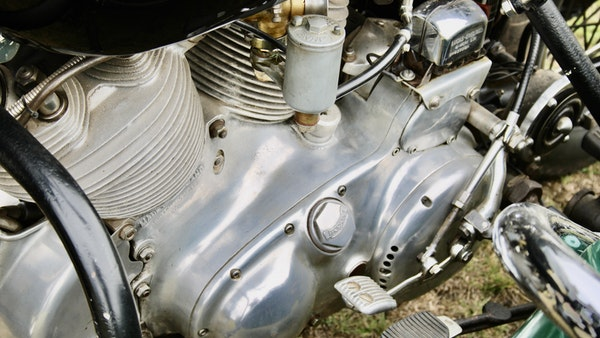 1949 Vincent White Shadow & Swallow Jet Sidecar For Sale (picture 58 of 60)