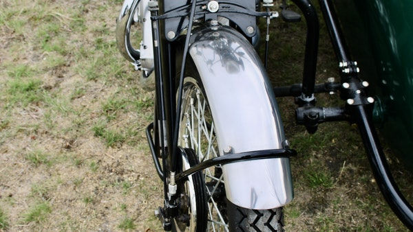 1949 Vincent White Shadow & Swallow Jet Sidecar For Sale (picture 39 of 60)