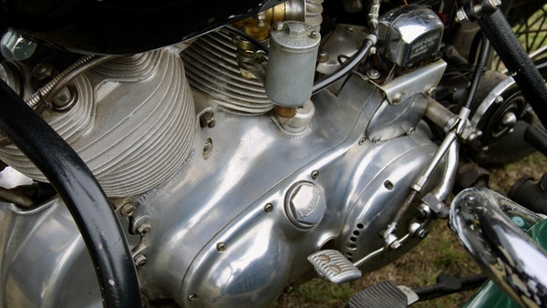 1949 Vincent White Shadow & Swallow Jet Sidecar For Sale (picture 59 of 60)