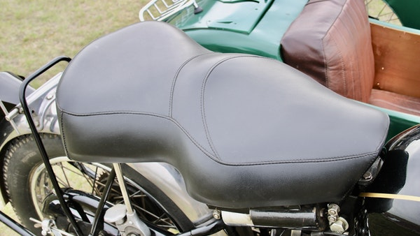 1949 Vincent White Shadow & Swallow Jet Sidecar For Sale (picture 25 of 60)