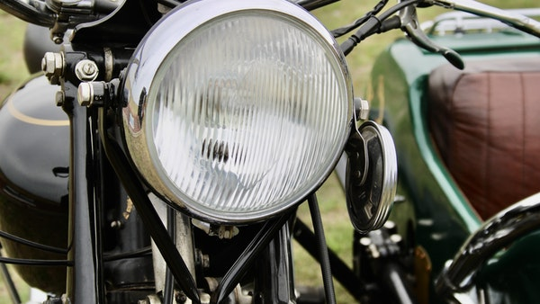 1949 Vincent White Shadow & Swallow Jet Sidecar For Sale (picture 38 of 60)