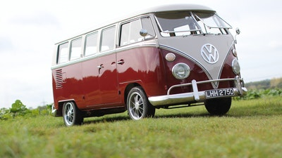 RESERVE LOWERED - 1966 Volkswagen 13-Windowed Deluxe van
