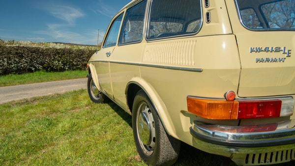 1973 VW 412 LE Variant For Sale (picture 15 of 68)