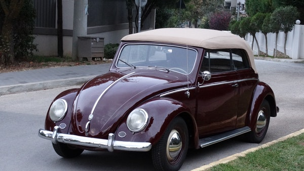 RESERVE LOWERED! - 1953 Volkswagen Beetle Kabriolett For Sale (picture 7 of 66)
