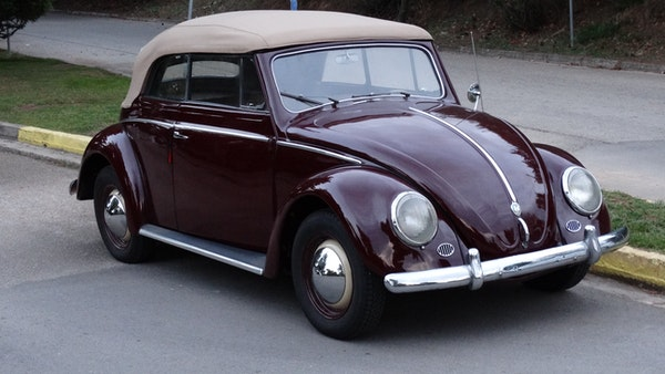 RESERVE LOWERED! - 1953 Volkswagen Beetle Kabriolett For Sale (picture 8 of 66)