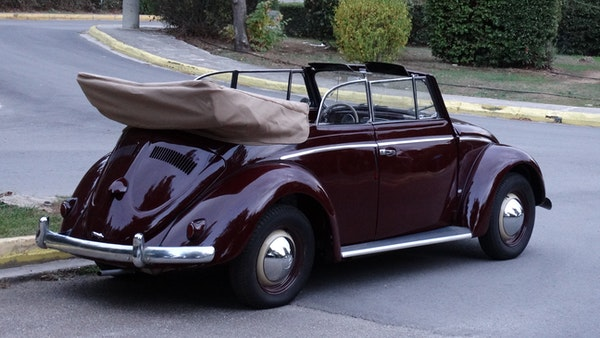 RESERVE LOWERED! - 1953 Volkswagen Beetle Kabriolett For Sale (picture 3 of 66)