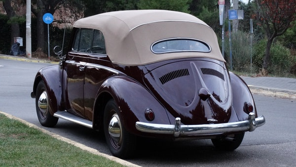 RESERVE LOWERED! - 1953 Volkswagen Beetle Kabriolett For Sale (picture 6 of 66)