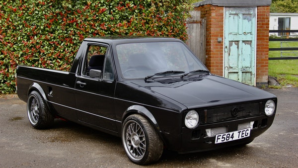 NO RESERVE - 1988 Volkswagen Caddy 1.8T For Sale (picture 7 of 57)