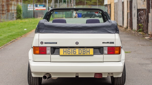 1990 VW Golf GTI Cabriolet For Sale (picture 4 of 142)