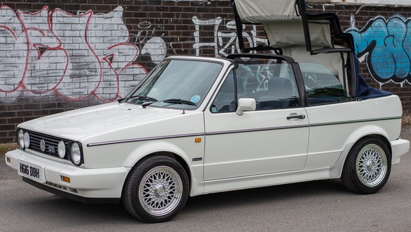1990 VW Golf GTI Cabriolet For Sale (picture 24 of 142)