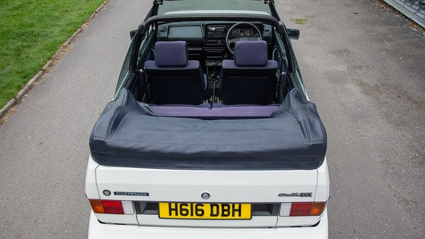 1990 VW Golf GTI Cabriolet For Sale (picture 7 of 142)