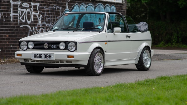 1990 VW Golf GTI Cabriolet For Sale (picture 5 of 142)