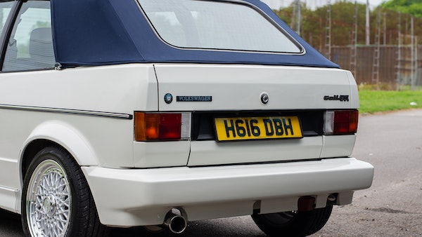 1990 VW Golf GTI Cabriolet For Sale (picture 68 of 142)
