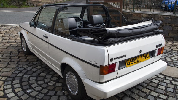 1989 VW Golf Clipper Cabriolet For Sale (picture 20 of 173)