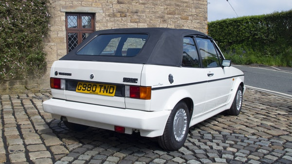 1989 VW Golf Clipper Cabriolet For Sale (picture 5 of 173)