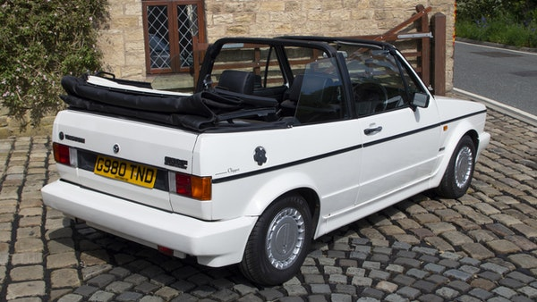 1989 VW Golf Clipper Cabriolet For Sale (picture 18 of 173)