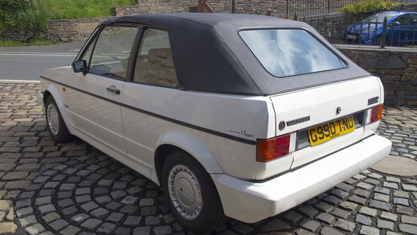 1989 VW Golf Clipper Cabriolet For Sale (picture 7 of 173)