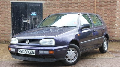 NO RESERVE! 1997 Volkswagen Golf CL