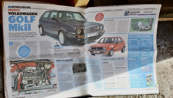 1991 Volkswagen Golf GTI 8v For Sale (picture 97 of 103)