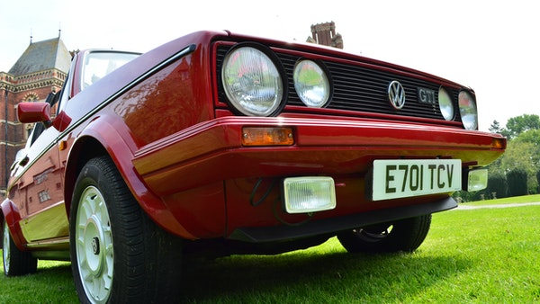 1988 Volkswagen Golf GTI Cabriolet For Sale (picture 61 of 88)