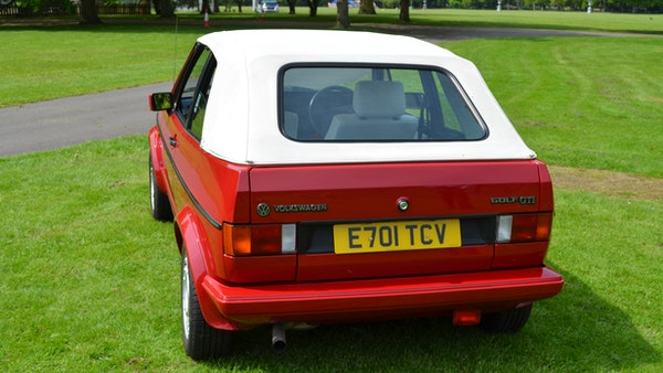 1988 Volkswagen Golf GTI Cabriolet For Sale (picture 7 of 88)