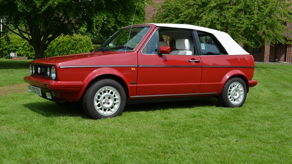 1988 Volkswagen Golf GTI Cabriolet For Sale (picture 3 of 88)