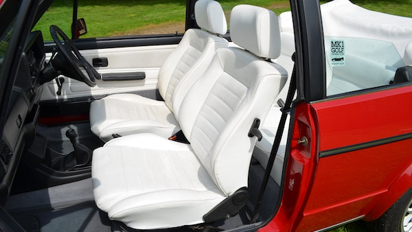 1988 Volkswagen Golf GTI Cabriolet For Sale (picture 41 of 88)