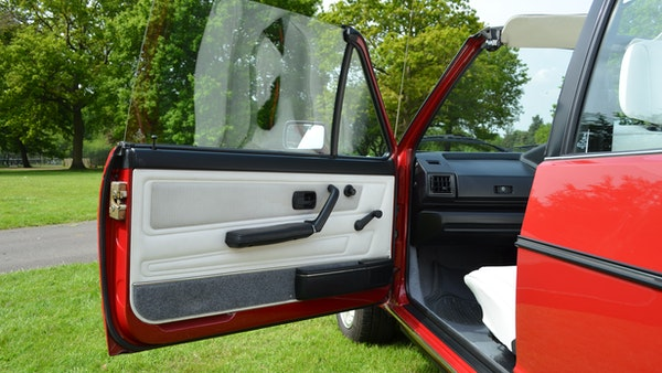 1988 Volkswagen Golf GTI Cabriolet For Sale (picture 32 of 88)