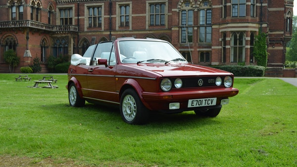 1988 Volkswagen Golf GTI Cabriolet For Sale (picture 10 of 88)