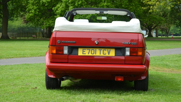 1988 Volkswagen Golf GTI Cabriolet For Sale (picture 14 of 88)